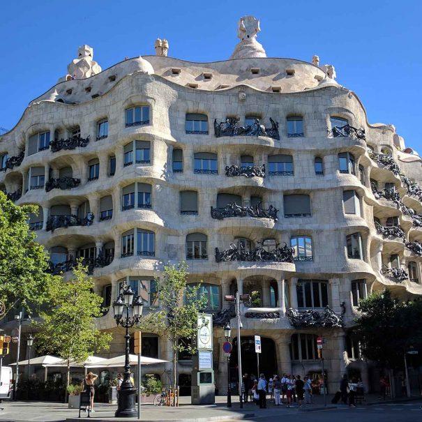 """Casa Milà """"La Pedrera"""" - Barcelona Guided Private Tours"""
